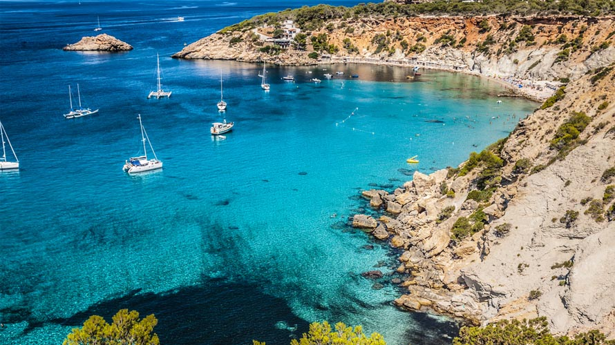 Sail in Spain, Yacht charter in Spain, Balearic Islands, Ibiza