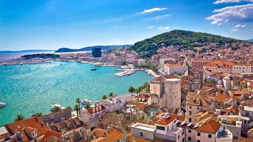 Sailing in Croatia, Split Region